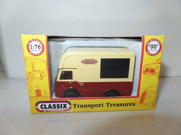 Classix EM76637 1/76 OO Scale NCB Electric High Top Van British Railways 1455 M